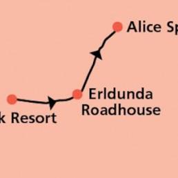 AAT Kings Ayers Rock to Alice Springs Transfer